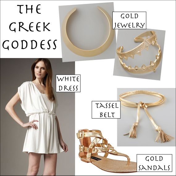 Best 25 diy greek goddess costume ideas on pinterest greek diy goddess headpiece halston heritage dress dannijo necklace house of harlow 1960 solutioingenieria Gallery
