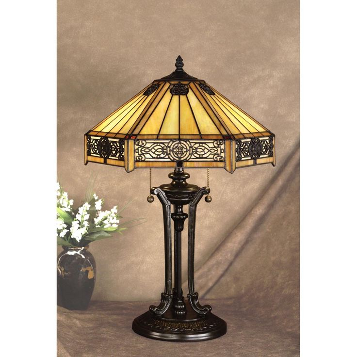 297 best shimmering tiffany lamps images on pinterest quoizel indus tiffany lamp table lamps at hayneedle aloadofball Gallery