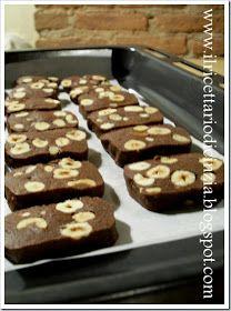 ilricettariodicinzia: Biscotti cacao e nocciole