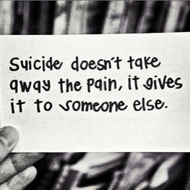 #NotoSuicide #There'shope