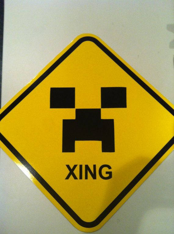 ... , Creepers Crosses, Creepers Xing, Xing Street, Minecraft Inspiration