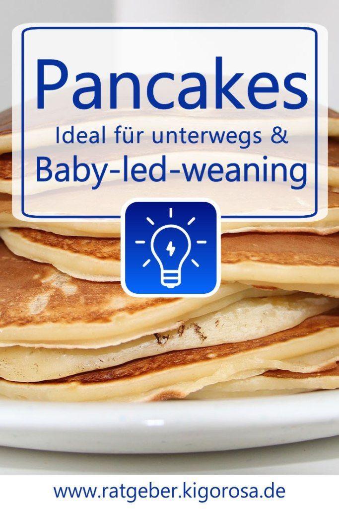 Baby led weaning: Rezept für kleine Pfannkuchen