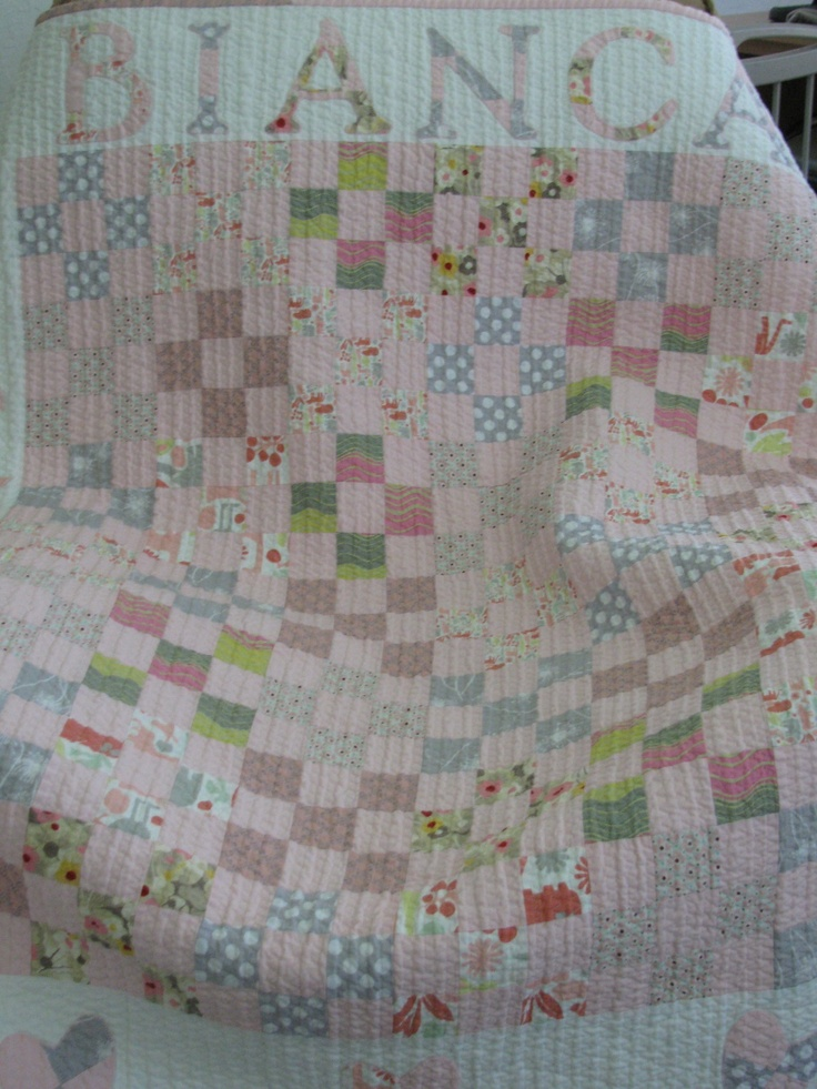 374 best Quilts - Babies/Kids/Charity images on Pinterest   For ... : 9 patch baby quilt pattern - Adamdwight.com