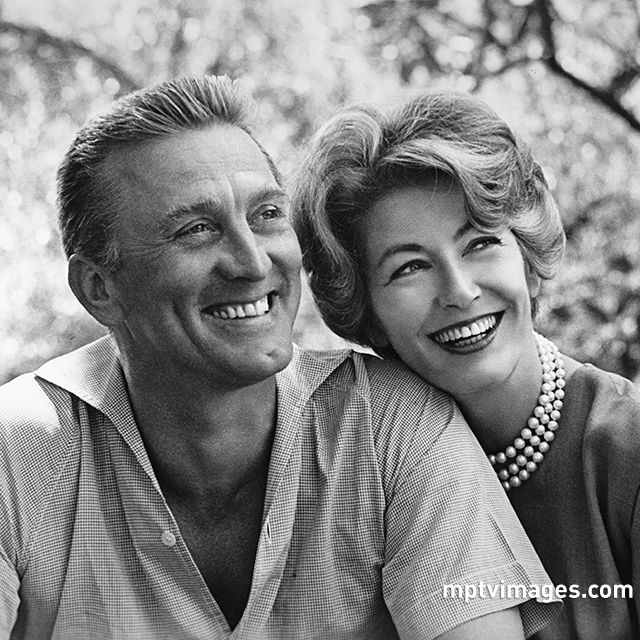 "Kirk Douglas and Anne Buydens recently released ""Kirk and Anne: Letters of Love, Laughter and a Lifetime in Hollywood,"" which discloses some secrets of their 63-year-long marriage.  More photos on mptvimages.com  #marriedlife #mptvimages"
