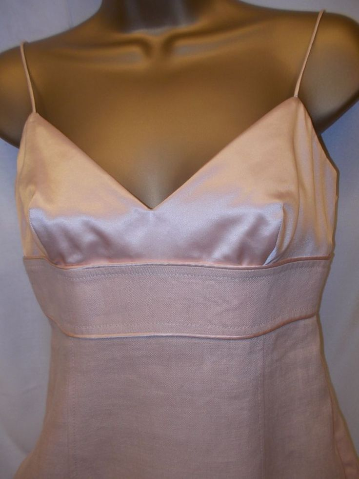 Auth MAX MARA Silk & Linen Dress S *NEW*