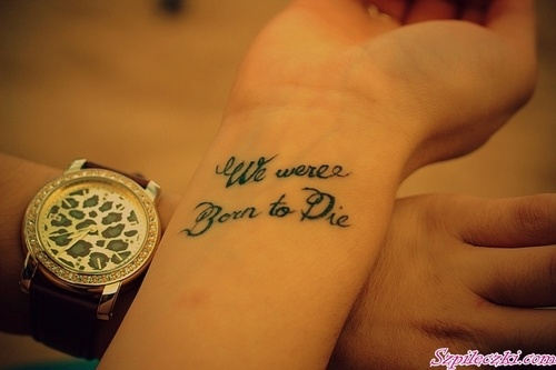 lana del rey tattoo die young - photo #20