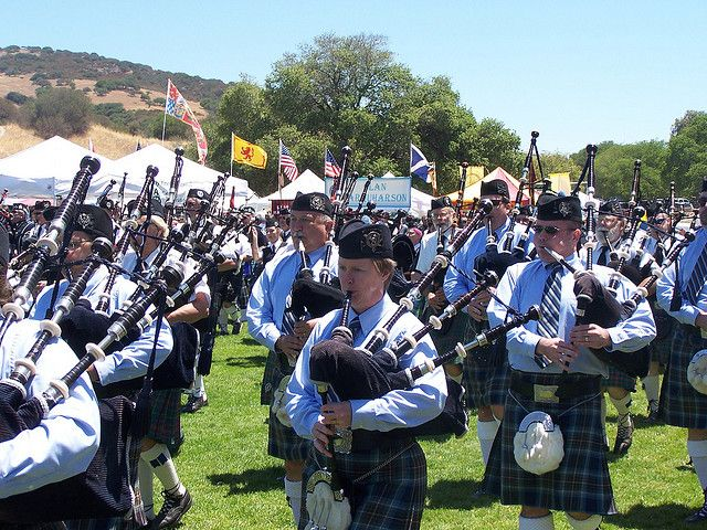 Monterey's Scottish Games & Celtic Festival