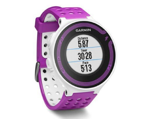 Just like a coach, Forerunner 220 provides the motivating feedback you need to guide your training. You can even get post-run encouragement from friends and fans, thanks to the 220's connected features like real-time live tracking and social media sharing via the Garmin Connect Mobile app. Colorful Running Companion with Connected Features GPS running watch …