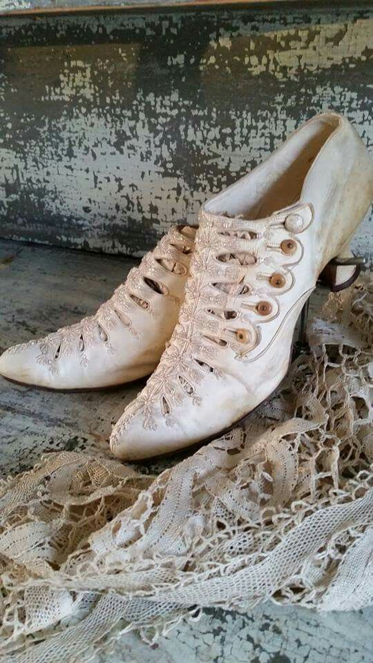 Vintage Victorian/Edwardian Shoes