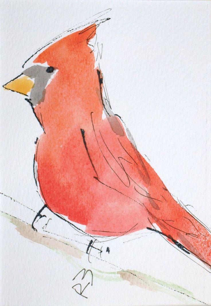 Super-simple Watercolor Birds