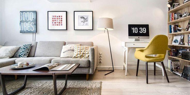 Couples Apartment - Scandinavian Design