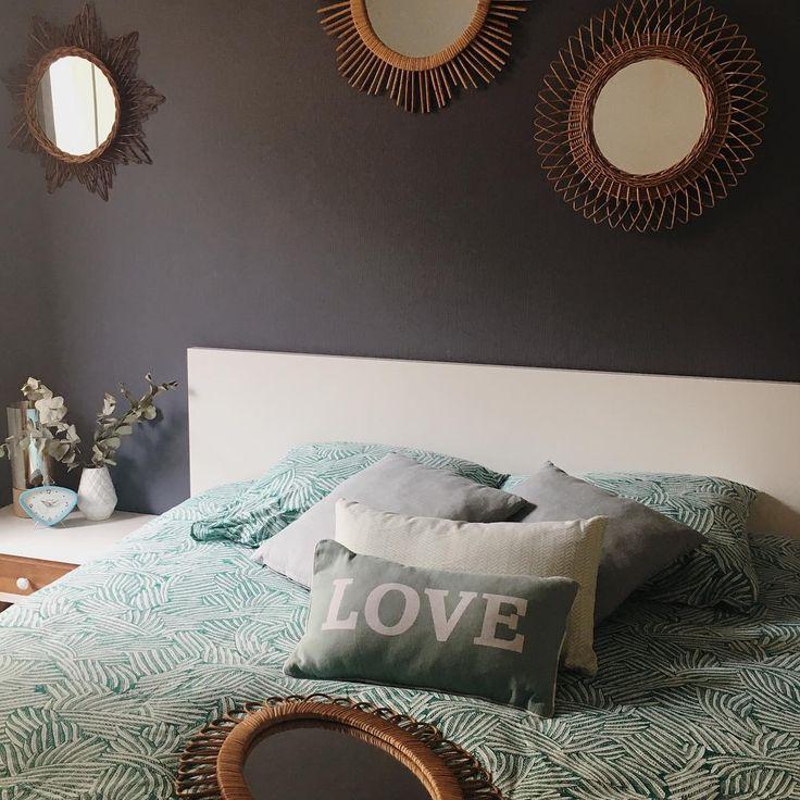 17 meilleures id es propos de t te de lit en miroir sur pinterest chambre - Castorama tete de lit ...