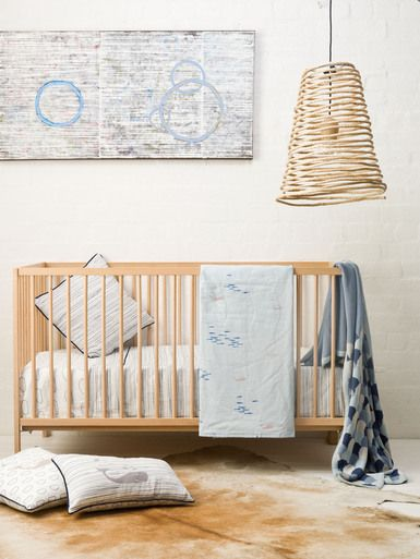Cot Sheet Set - Whale of a Time