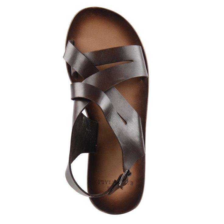 Gevlochten sandalen