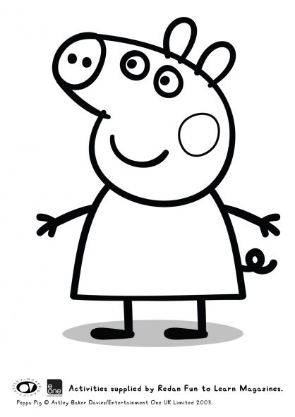 31 best Peppa pig coloring pages