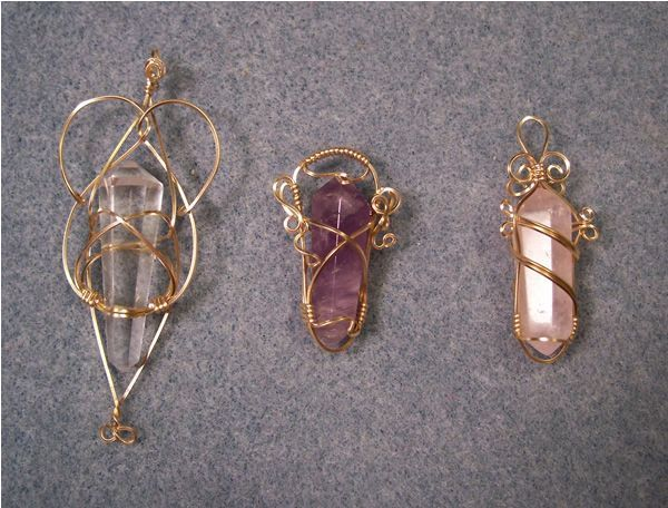 Crystal Wire Wrapping 101 Wire Wrapping Crystals Crystal Jewelry Diy Diy Wire Jewelry