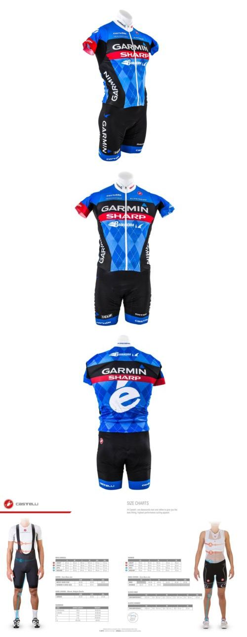 Other Cycling Clothing 177857: Brand New Castelli Garmin Sharp San Remo Speedsuit 2 Road Bike Bicycle Skinsuit BUY IT NOW ONLY: $175.0