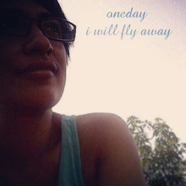One fine morning when this life is over ... i will fly away ...