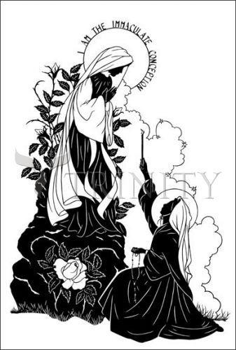 1000 Images About St Bernadette On Pinterest Lady