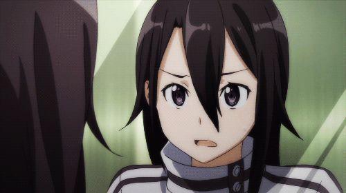 Kirito    GGO  haha Kirito is so cute here!
