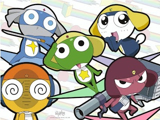 SGt FRog The BEST Anime show of all time. Dark Blue Tamama Fave