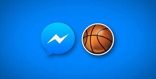Zahraj si basketbal v podobe skrytej hry v aplikácii Messenger