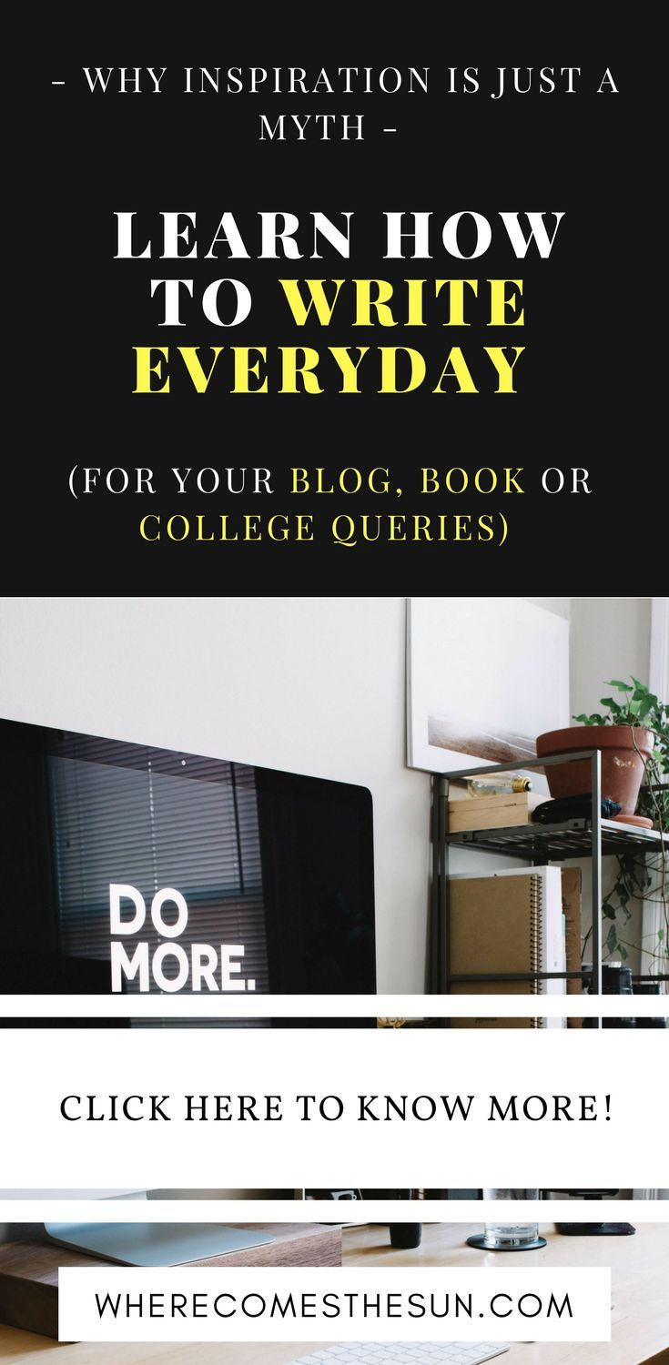 How to write consistently everyday tips and tricks hacks