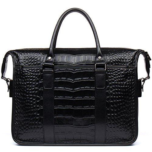 Father's+Day+Gift+Men+Briefcase+Crocodile+Print+Best+Cowhide+Office+Travel+Handbag+Business+Messenger+Bag+–+WESTBRONCO