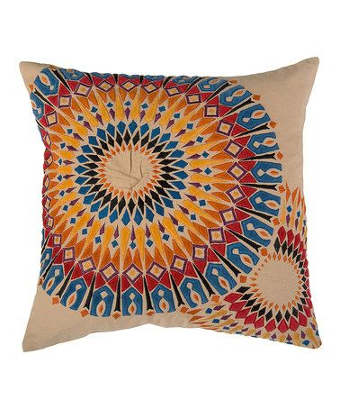 Another great find on #zulily! Multicolored Geometric Throw Pillow #zulilyfinds