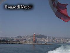 The sea of Naples - Italy