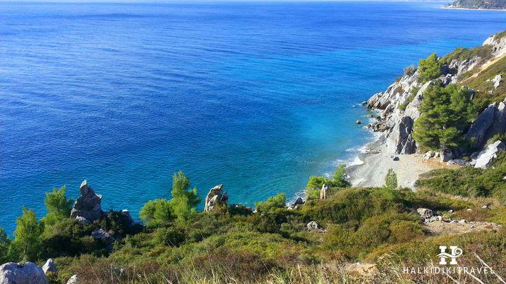 #Agia #Paraskevi #beach in #Halkidiki. Visit www.halkidikitravel.com for more info. #HalkidikiTravel #travel #Greece