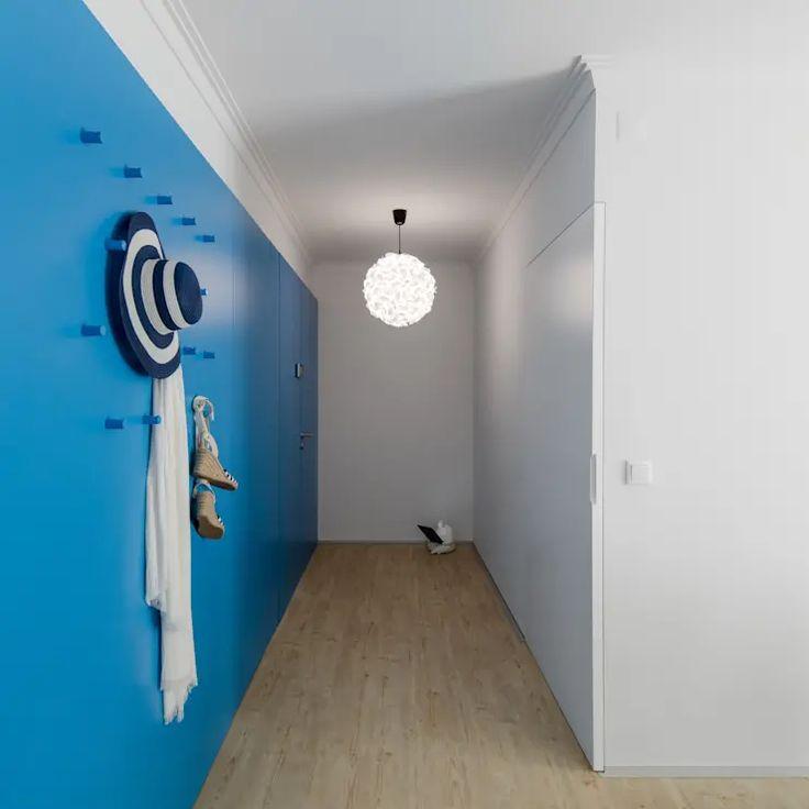 25 فكرة جميلة لتزيين مدخل المنزل Homify Home Blue Painted Walls Refurbishing