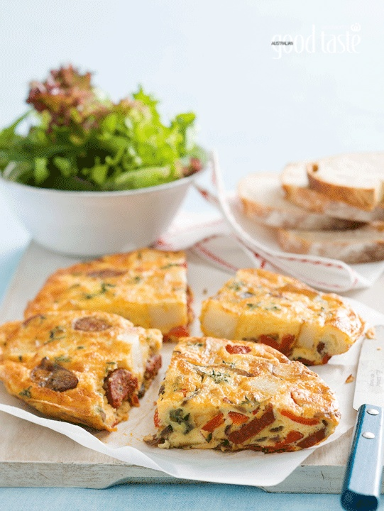 This Mexican-style chorizo frittata got the thumbs up from our junior ...