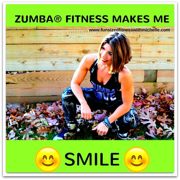 Zumba Fitness Makes Me Smile