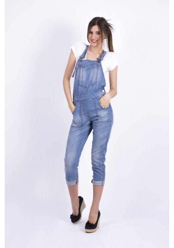 Salopeta Ex - Stefanel Jeans: http://femina.ro/femei/imbracaminte/salopete/salopeta-ex-stefanel-jeans.html