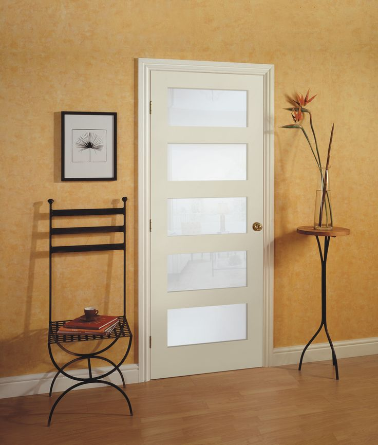 79 best interior doors images on pinterest interior - Interior doors with privacy glass ...