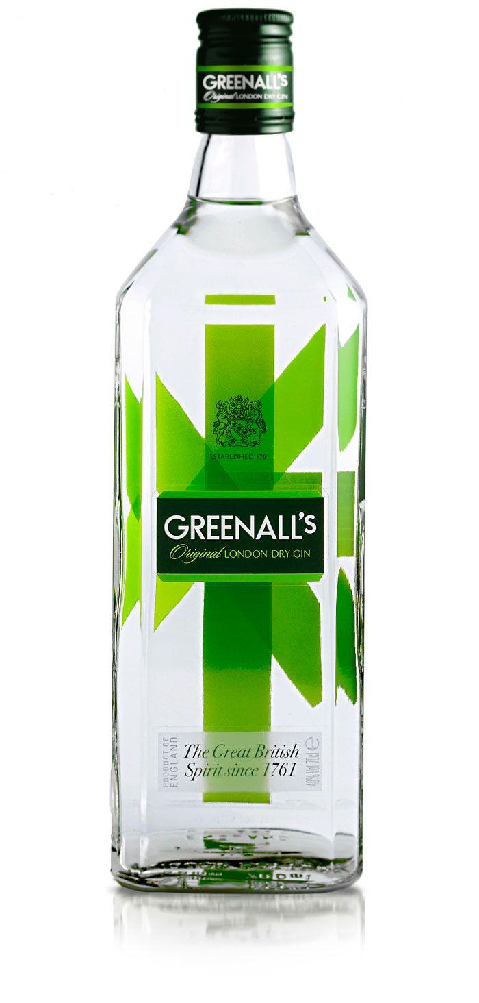 Greenall's London Dry Gin #bottle #packaging