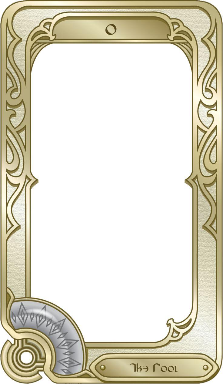 Best Card Designs Images On Pinterest Steampunk Crafts - Tarot card template