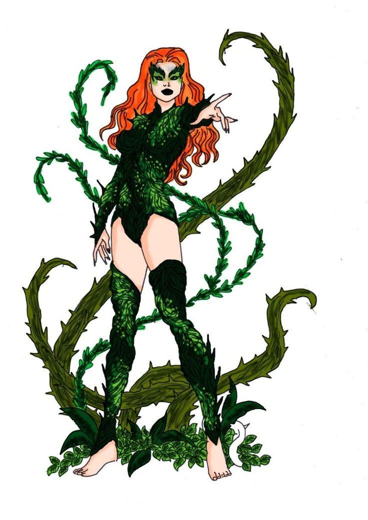 Poison Ivy Redesign 3! by ~Comicbookguy54321 on deviantART