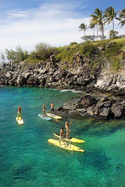 Stand Up Paddle Boarding in Hawaii