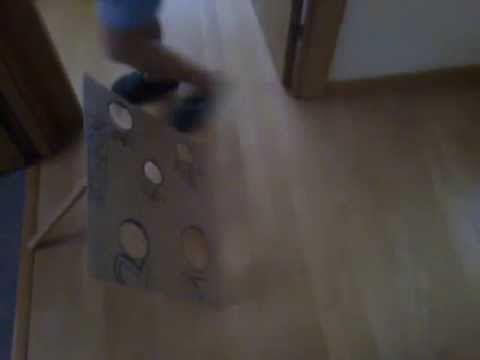 Cómo hacer un juego de puntería con bolas de rollon. - YouTube