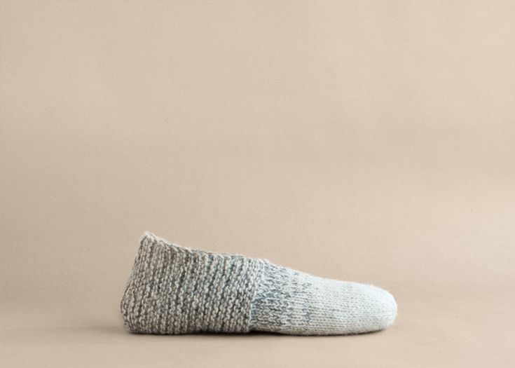 Simple house Slippers - Free pattern - Temple of Knit