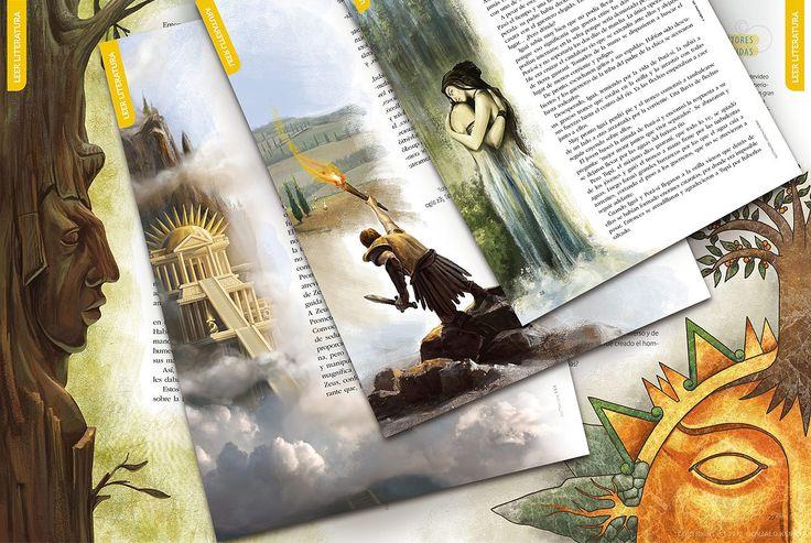Literatura 4: Palabras míticas, épicas y trágicas. Autores varios. Español. Ediciones SM, 2012.
