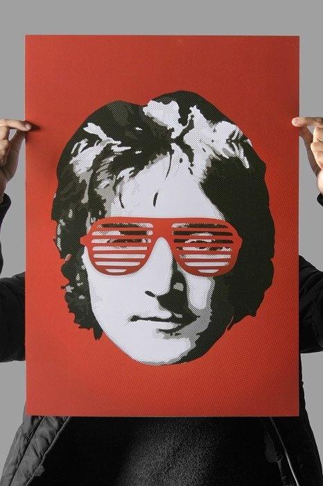 Poster John Lennon - Chico Rei