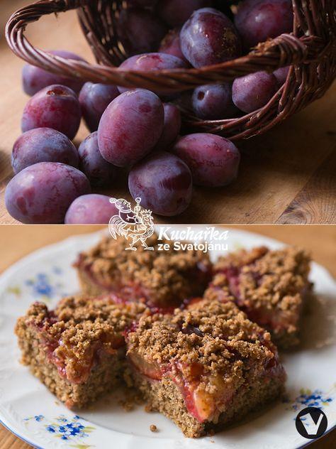 Spojení švestek a arašídového másla se postará o nevšední chuť. V míse promícháme 70 g celozrnné žitné mouky, 150 g celozrnné špaldové mouky...