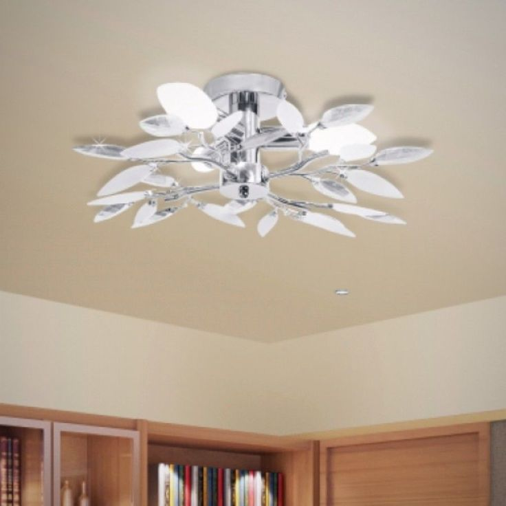 White Modern Acrylic Leaf Arms Ceiling Lamp Contemporary Style  http://www.ebay.co.uk/itm/White-Modern-Acrylic-Leaf-Arms-Ceiling-Lamp-Contemporary-Style-/252631213387?hash=item3ad1fe654b:g:tEMAAOSwcUBYJV7R