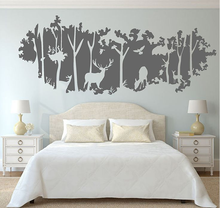 Best 25 wall decals for nursery ideas on pinterest for Baby boy mural ideas
