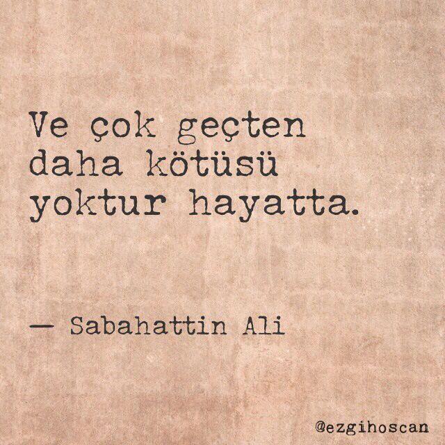 Sabahattin Ali'