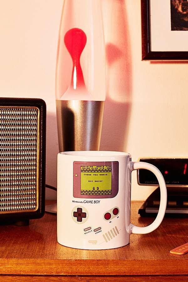 Slide View: 1: Tasse thermosensible motif Gameboy