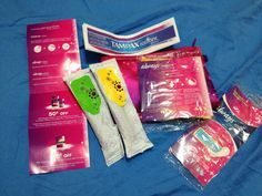 How to Make a Period Kit for Swimming -- via wikiHow.com
